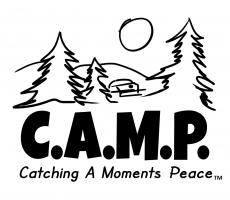http://www.facebook.com/pages/CAMP-Catching-A-Moments-Peace/645755708807705